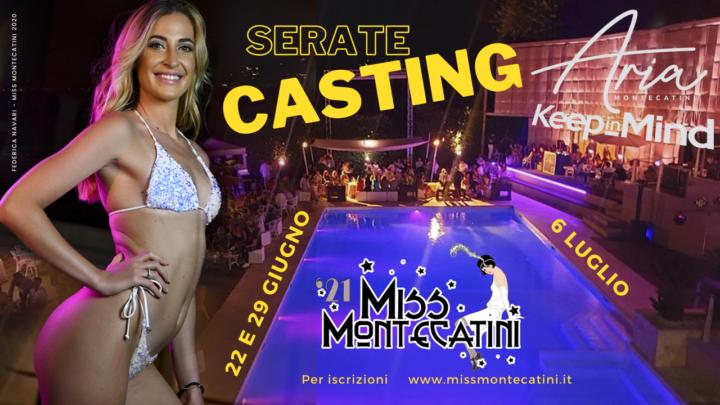 Casting Aria Montecatini